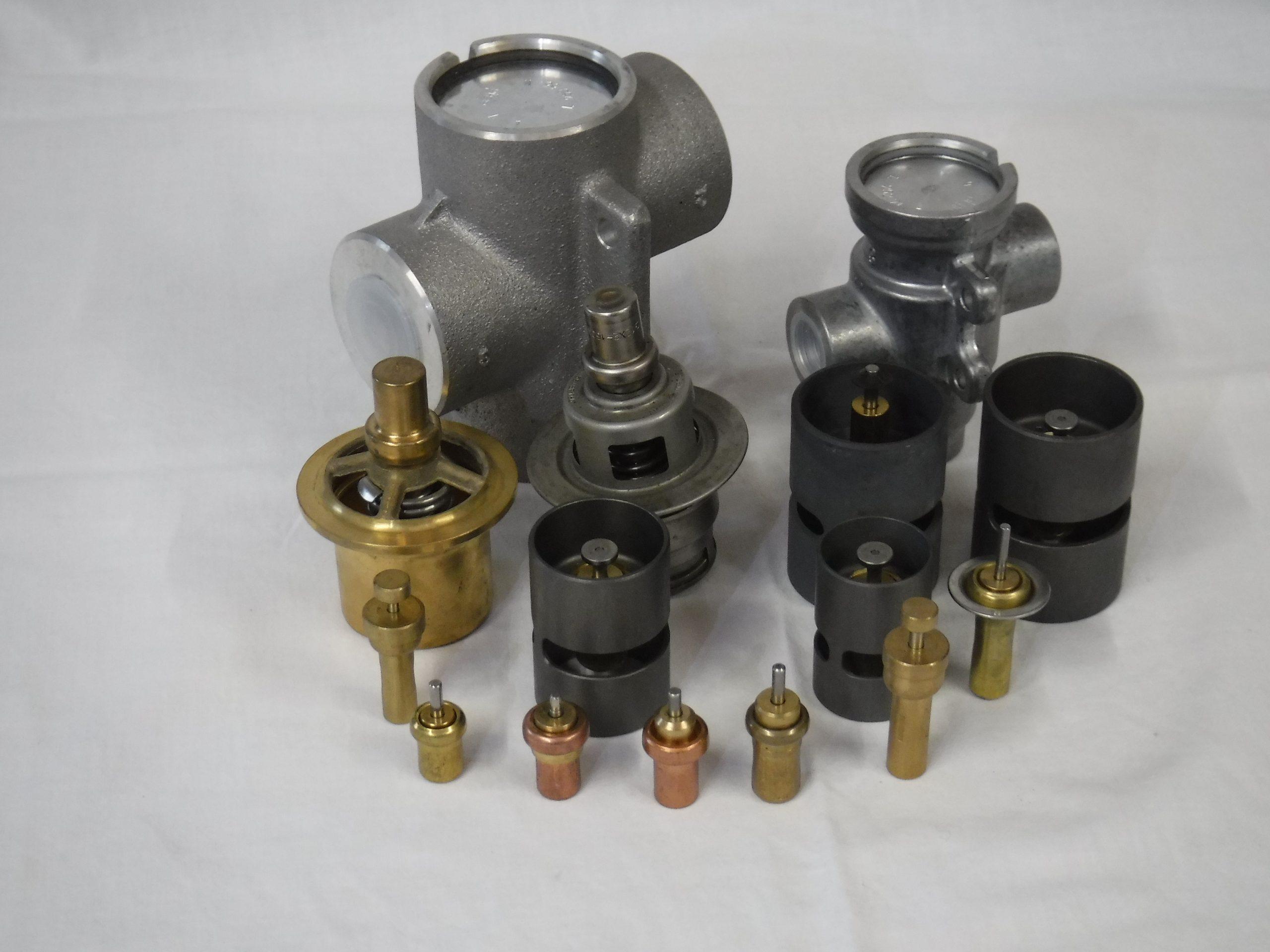 Oljni termostatski ventil